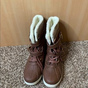 ShoeDazzle Size 12Cold Weather Boot. Worn once.